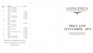Longines_1973_PriceList_1
